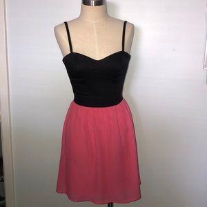 Flowy mini dress